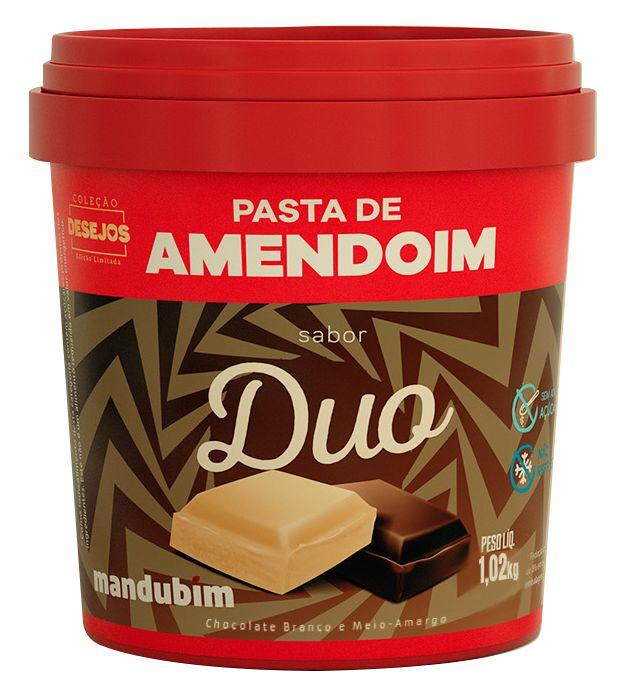 Pasta de Amendoim sabor Duo 1,02 Quilos