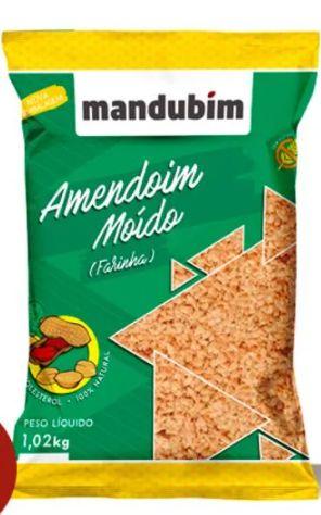 Amendoim Moído Farinha 1,02 Quilos