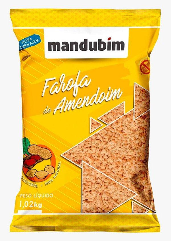 Farofa de Amendoim 1,02 Quilos