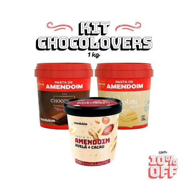 Kit Choco Lovers Quilo