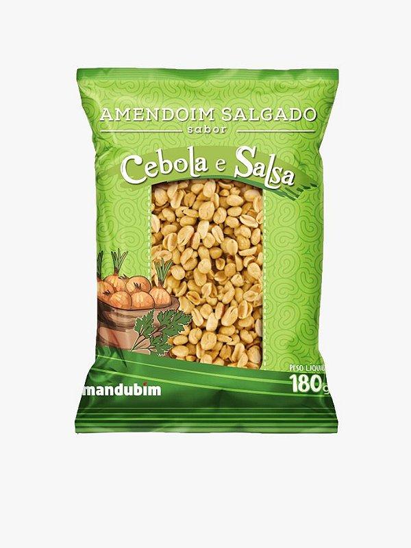 Amendoim Salgado Cebola e Salsa 180g