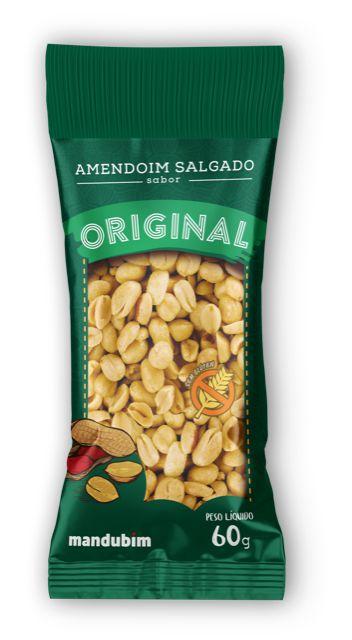 Amendoim Salgado Original 60g