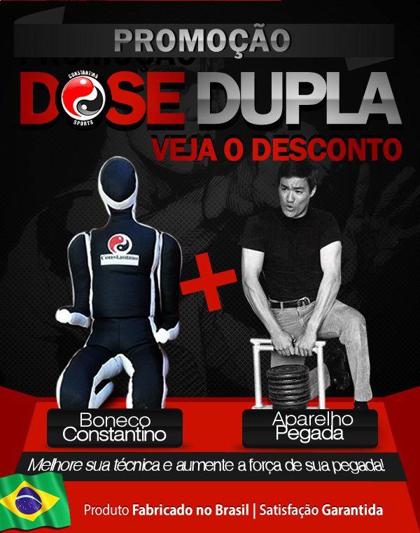Boneco Constantino + Aparelho de Pegada   Promoção Dose Dupla