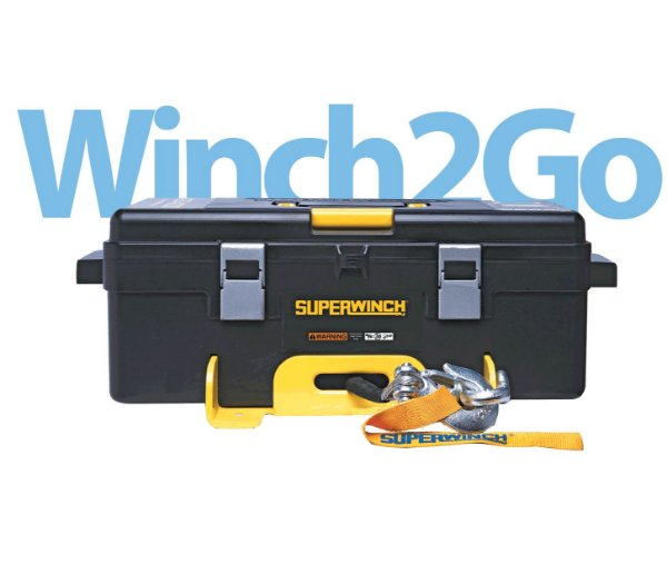 GUINCHO ELETRICO SUPERWINCH 2-GO 4000