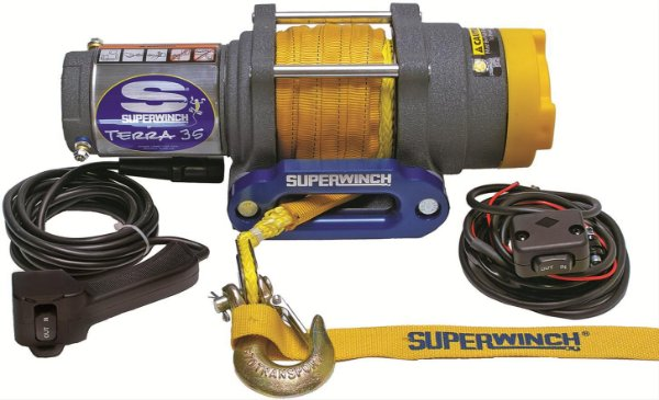 GUINCHO ELETRICO SUPERWINCH TERRA 35SR