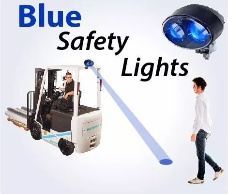 BLUE POINT PARA EMPILHADEIRAS 20W CREE LEDS (LED AZUL)