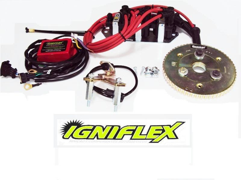 KIT IGNIFLEX GM OPALA 3.8 6C C/POLIA SIMPLES - GASOLINA