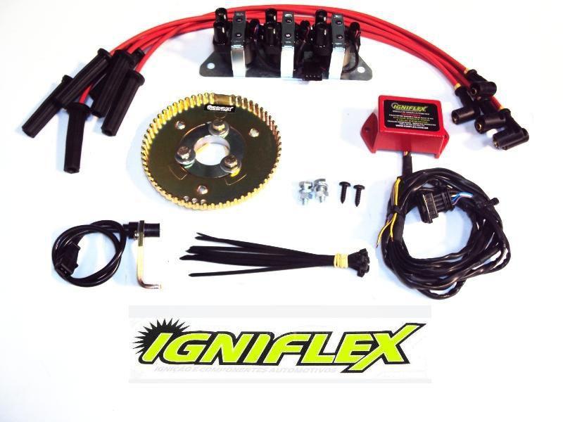 KIT IGNIFLEX FORD F1000 3.6 6C MOTOR FALCON CARBURADO