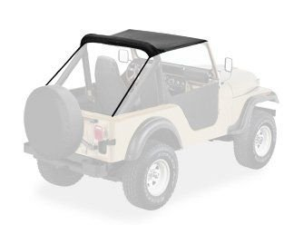 TOLDO PRETO  JEEP WILLYS / FORD CJ5