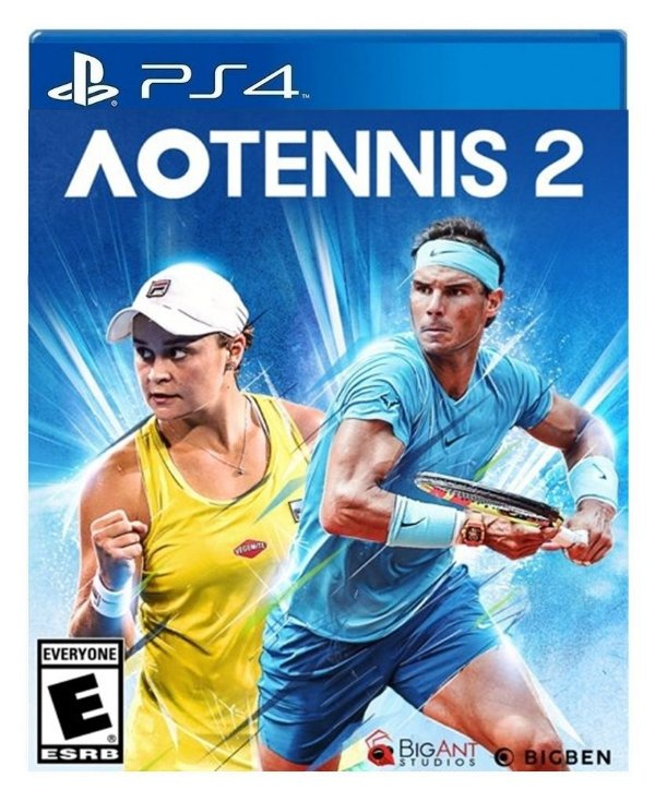 AO Tennis 2 para ps4 - Mídia Digital