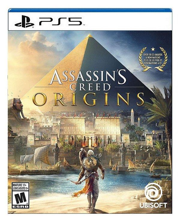Assassin's Creed Origins para ps5 - Mídia Digital
