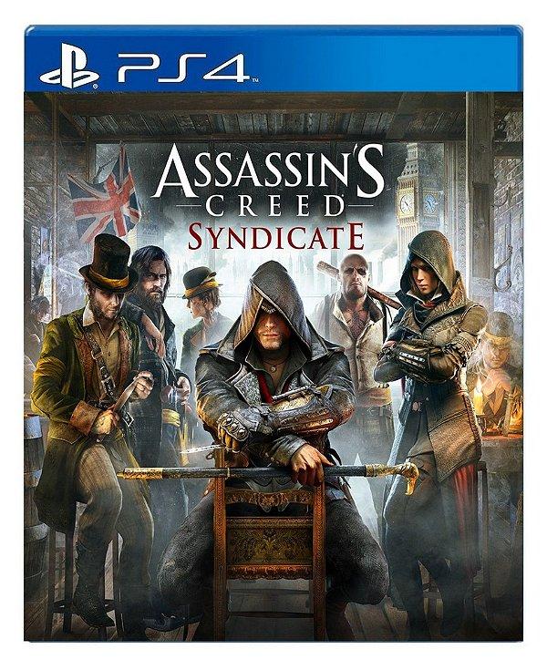 Assassin´s Creed Syndicate para ps4 - Mídia Digital