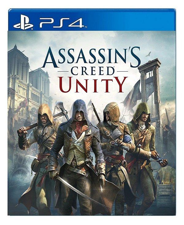 Assassin´s Creed Unity para ps4 - Mídia Digital