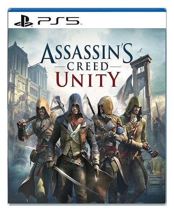 Assassin´s Creed Unity para ps5 - Mídia Digital