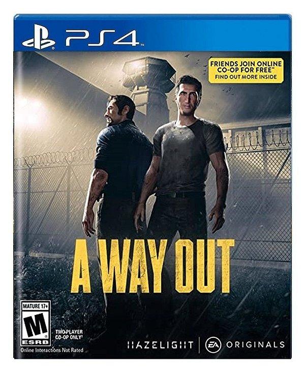 A Way Out para ps4 - Mídia Digital
