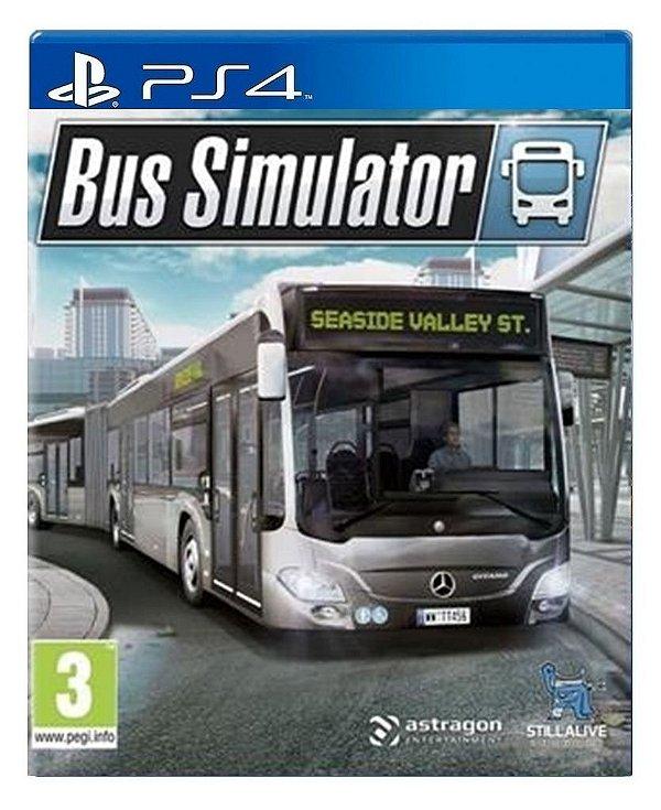 Bus Simulator para ps4 - Mídia Digital
