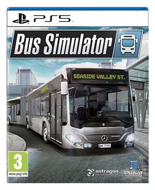 Bus Simulator para ps5 - Mídia Digital