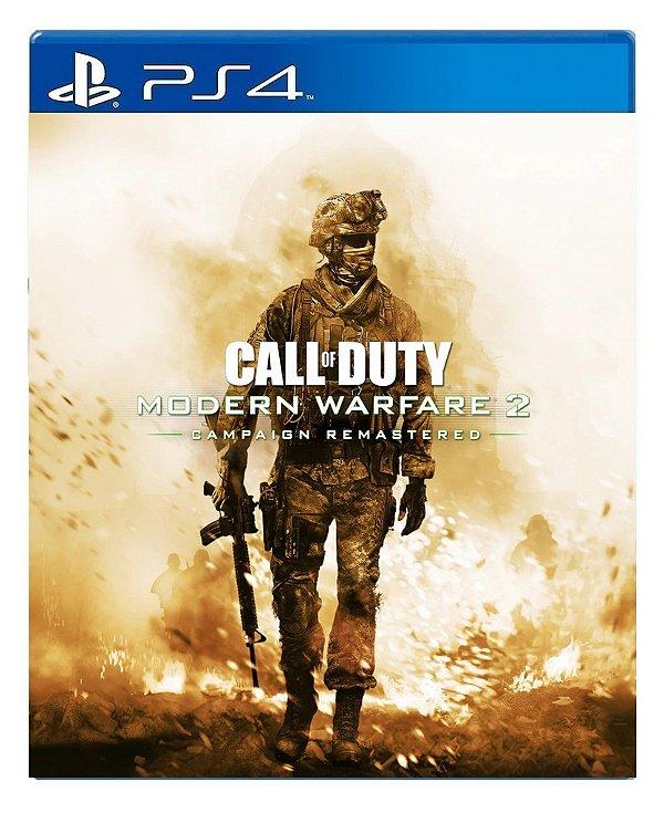 Call of Duty Modern Warfare 2 Campaign Remastered para ps4 - Mídia Digital
