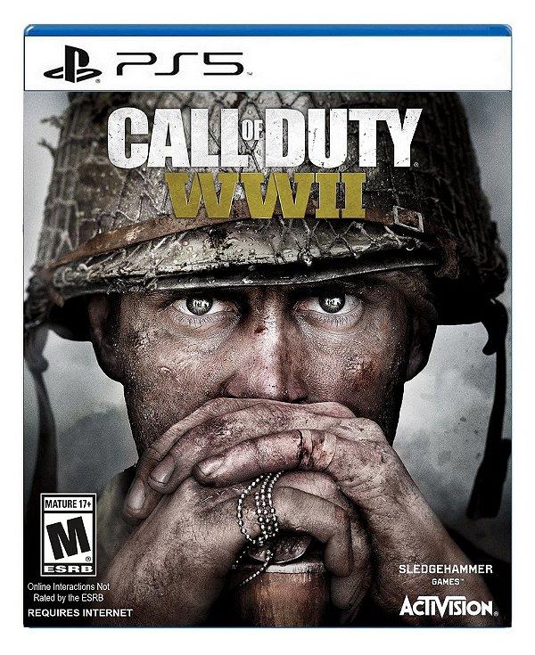 Call of Duty WWII para PS5 - Mídia Digital