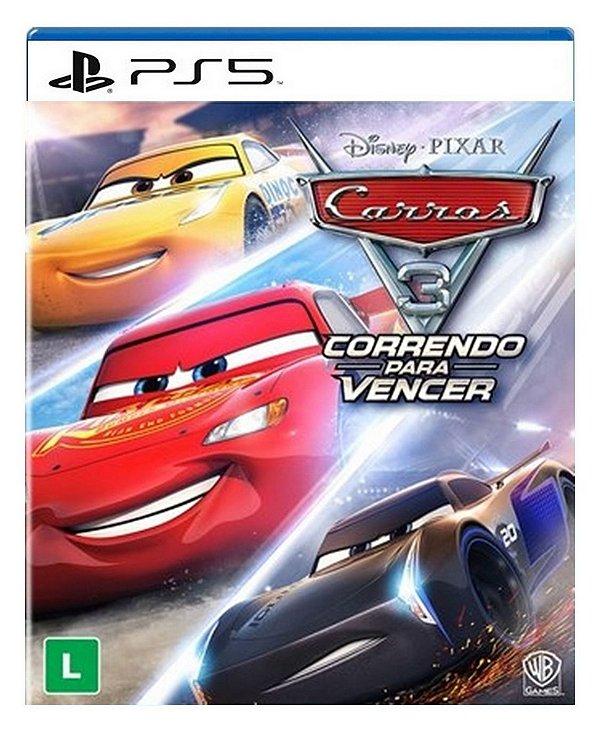Carros 3: Correndo para Vencer para ps5 - Mídia Digital