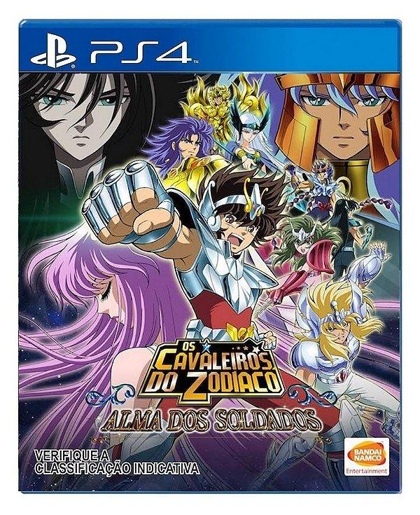 Cavaleiros Do Zodíaco para PS4 - Mídia Digital
