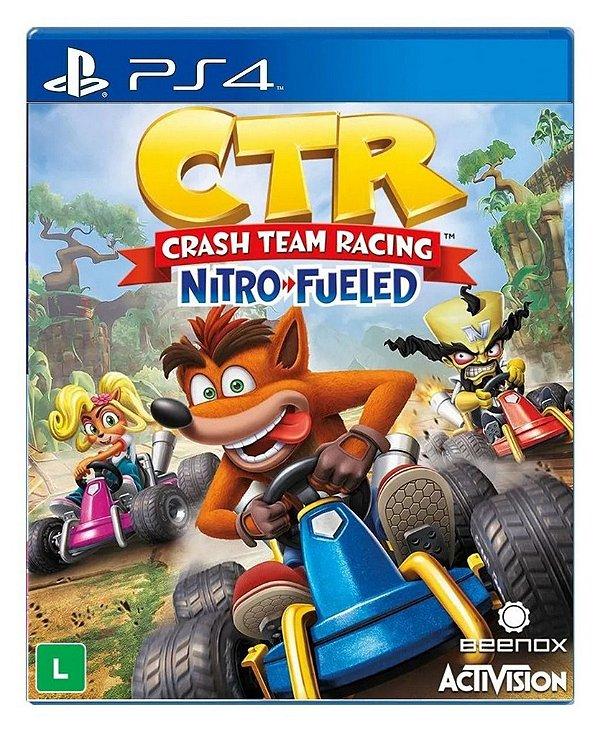 Crash Team Racing Nitro-Fueled para PS4 - Mídia Digital