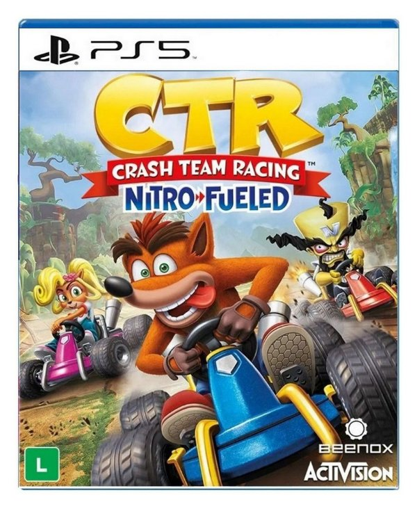 Crash Team Racing Nitro-Fueled para PS5 - Mídia Digital