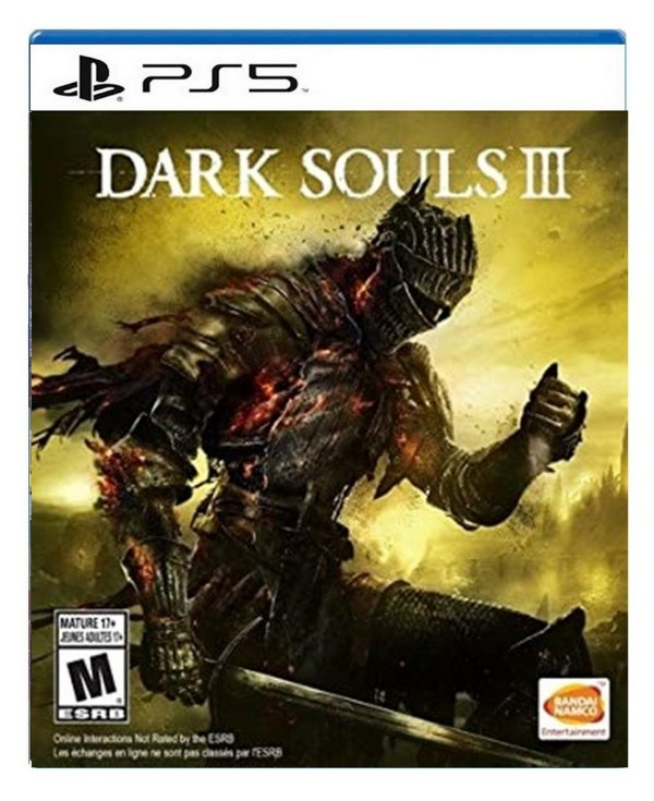 Dark Souls 3 para ps5 - Mídia Digital