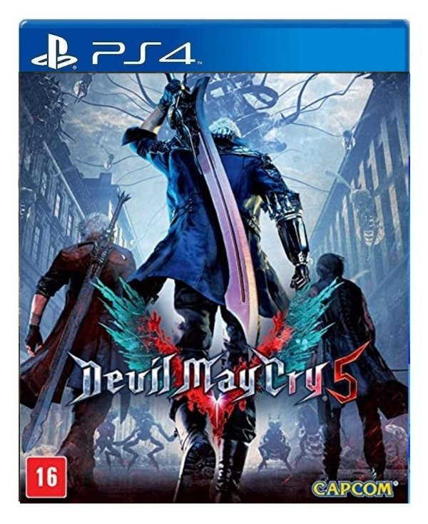 Devil May Cry 5 para ps4 - Mídia Digital