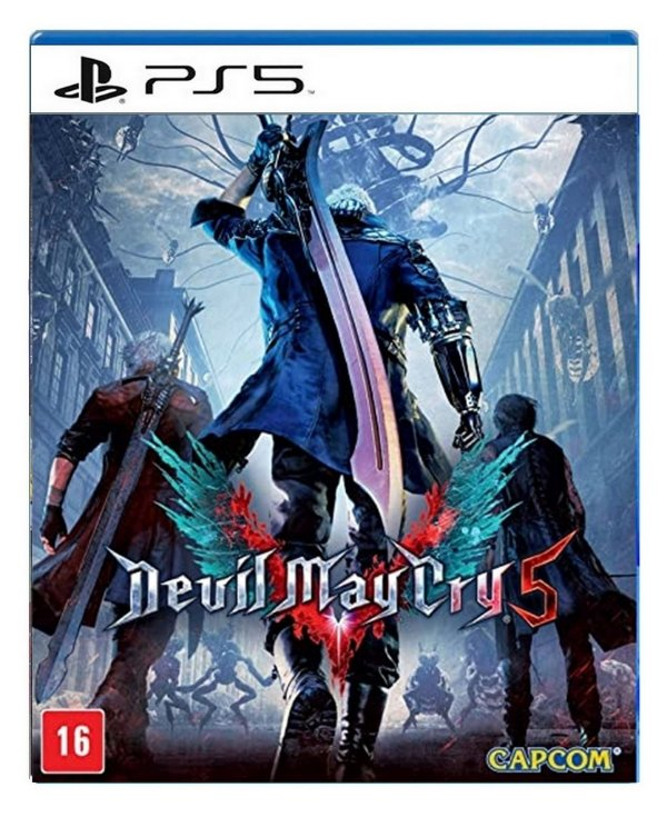 Devil May Cry 5 para ps5 - Mídia Digital