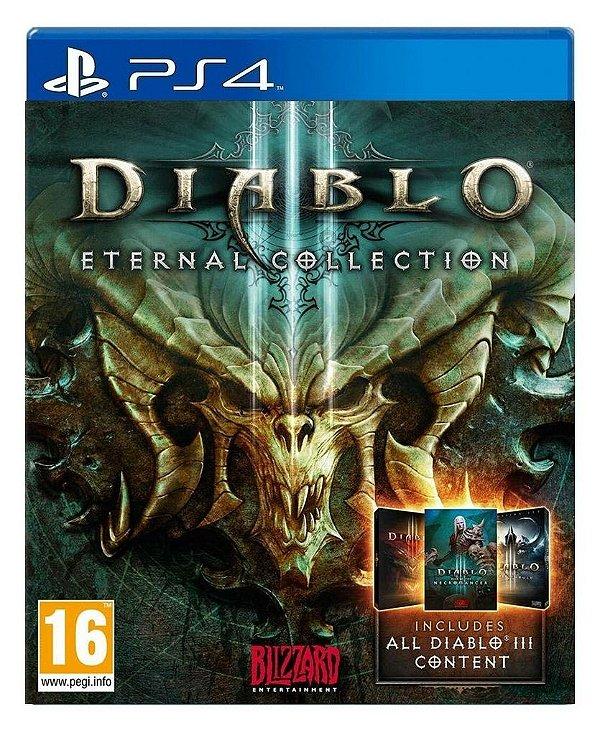 Diablo III: Eternal Collection para ps4 - Mídia Digital