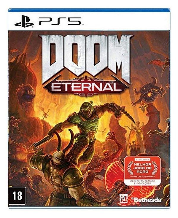 Doom Eternal para PS5 - Mídia Digital