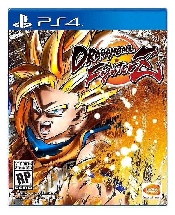 Dragon Ball Fighter Z para PS4 - Mídia Digital