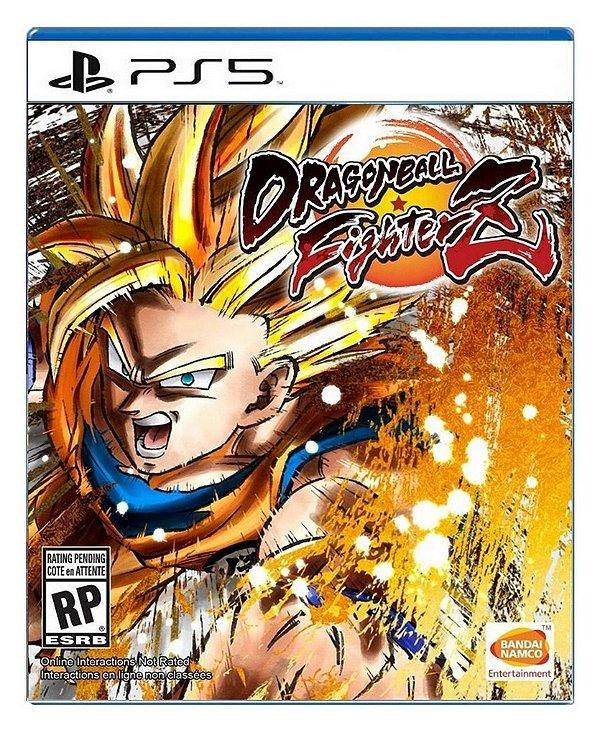 Dragon Ball Fighter Z para PS5 - Mídia Digital