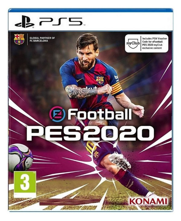eFootball PES 2020 para PS5 - Mídia Digital