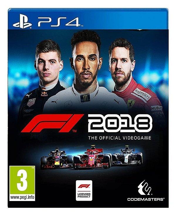F1 2018 para ps4 - Mídia Digital