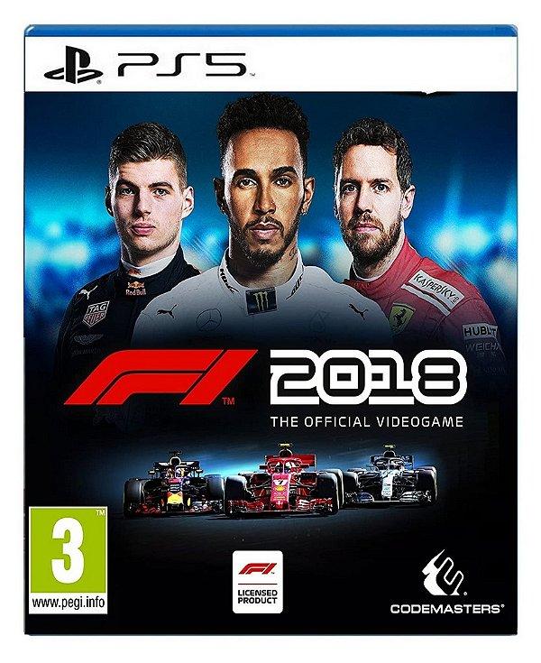 F1 2018 para ps5 - Mídia Digital