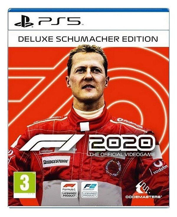 F1 2020 - Deluxe Schumacher Edition para PS5 - Mídia Digital
