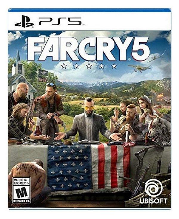 Far Cry 5 para PS5 - Mídia Digital