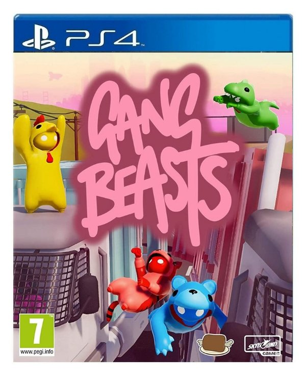 Gang Beasts para ps4 - Mídia Digital