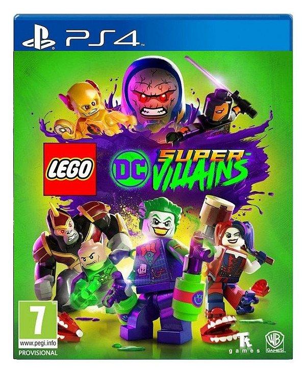 LEGO® DC Super-Vilões para ps4 - Mídia Digital