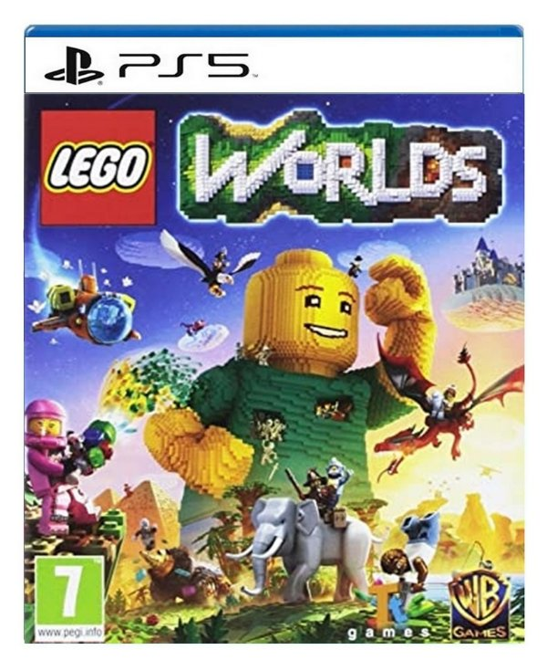 LEGO® Worlds para ps5 - Mídia Digital
