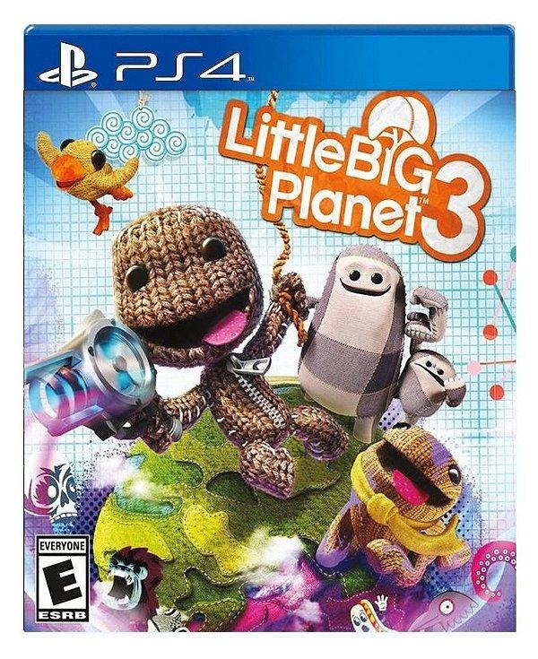 LittleBigPlanet 3 para ps4 - Mídia Digital