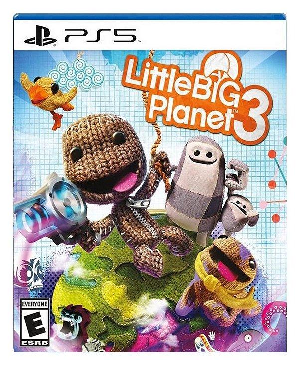 LittleBigPlanet 3 para ps5 - Mídia Digital