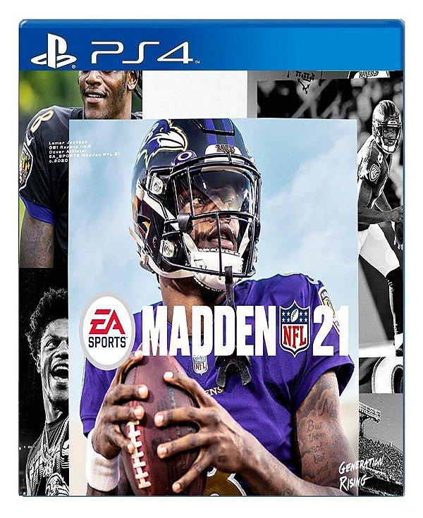 Madden NFL 21 para PS4 - Mídia Digital