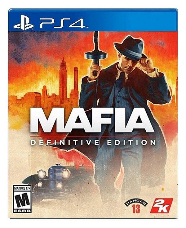 Mafia Definitive Edition para PS4 - Mídia Digital