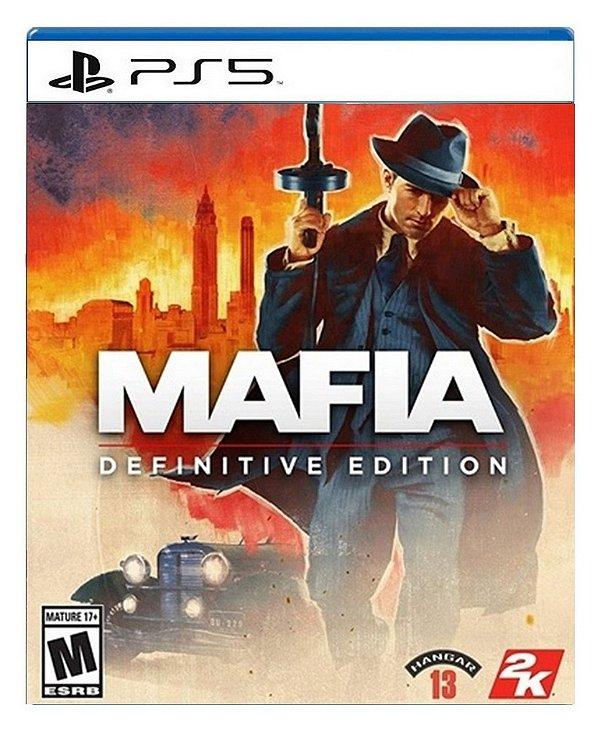 Mafia Definitive Edition para PS5 - Mídia Digital