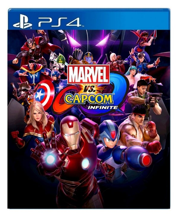 Marvel vs. Capcom Infinite para ps4 - Mídia Digital