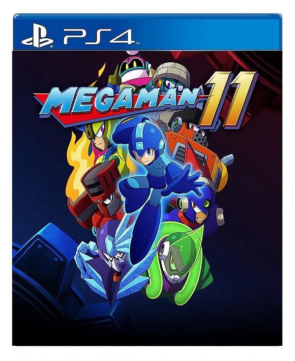Mega Man 11 para ps4 - Mídia Digital