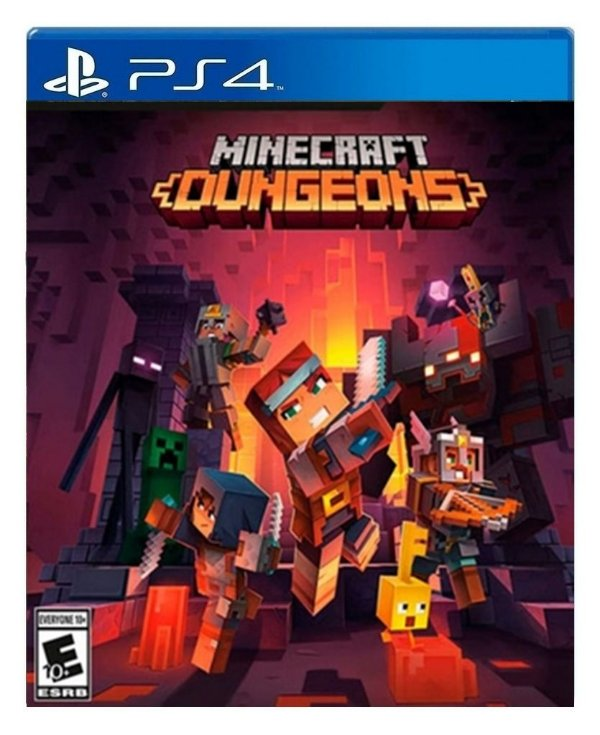 Minecraft Dungeons para ps4 - Mídia Digital